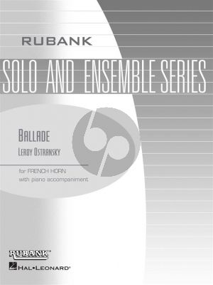Ostransky Ballade for French Horn and Piano