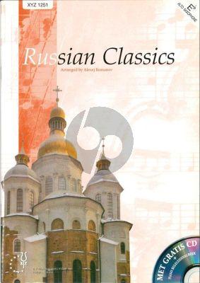 Russian Classics Alto Sax.[Bar.Sax./Horn in Eb]with Piano (Bk-Cd) (Romanov)