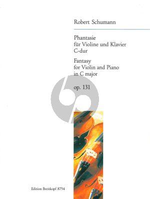 Schumann Fantasie C-dur Op.131 Violin-Piano (Joachim Draheim)
