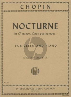 Nocturne cis-minor