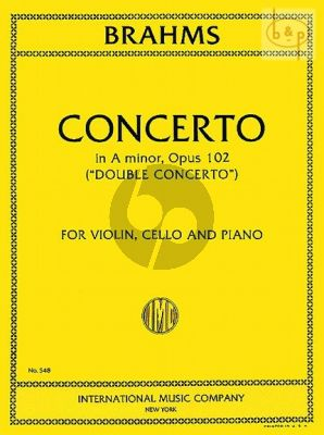 Double Concerto a-minor Op.102 (Vi.-Vc.-Orch.)