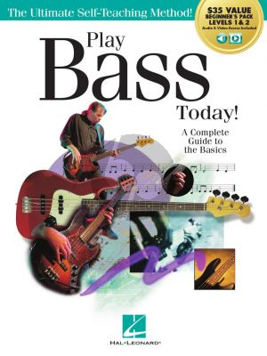 Kringel Play Bass Today. Beginner's Pack (Includes Book 1, Book 2, Audio & Video)