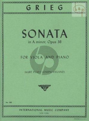 Sonata a-minor Op.36