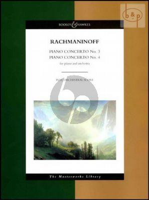 Concertos No.3 Op.30 and No.4 Op.40 (Piano-Orch.