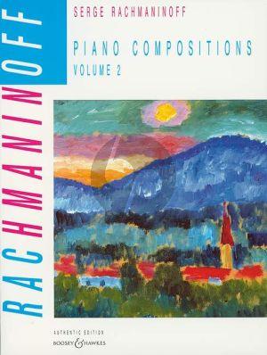 Rachmaninoff Piano Compositions Vol.2