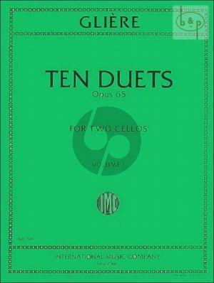 10 Duets Op.53 Vol.1 2 Violoncellos