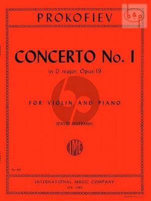 Concerto No.1 D-major Op.19