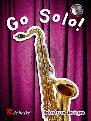 Beringen Go Solo! Soprano / Tenor Saxophone (Bk-Cd) (A Fun Collection of Original Pieces)