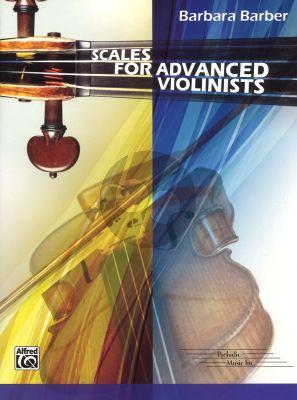 Barber Scales for Advanced Violinists (Violin)