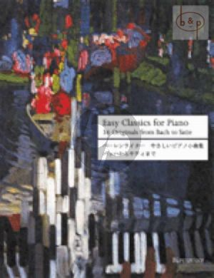 Easy Classics for Piano - 36 Originals from Bach to Satie (Michael Topel)