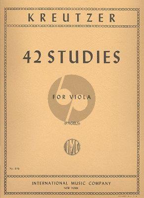 42 Studies Viola