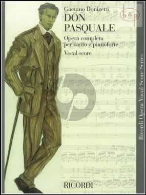 Don Pasquale (Vocal Score) duitse text boven