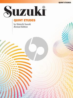 Suzuki Quint Etudes Violin (revised)