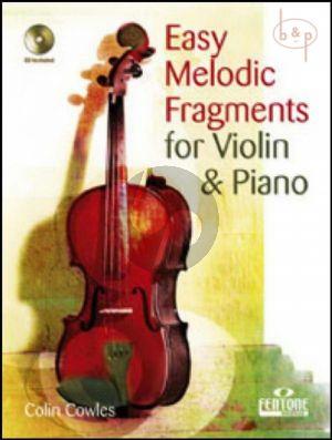 Easy Melodic Fragments (Violin)