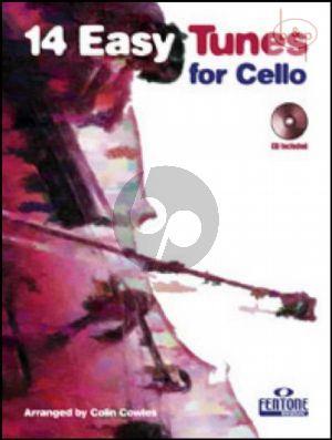 14 Easy Tunes Cello (Bk-Cd)
