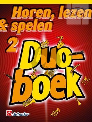 Horen, Lezen & Spelen 2 Duoboek Trombone Vioolsleutel