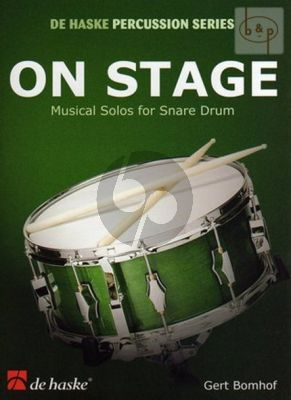 Bomhof On Stage for Snaredrum (25 Musical Solos)