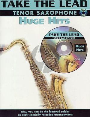 Take the Lead Huge Hits Tenor Saxophone (Bk-Cd)
