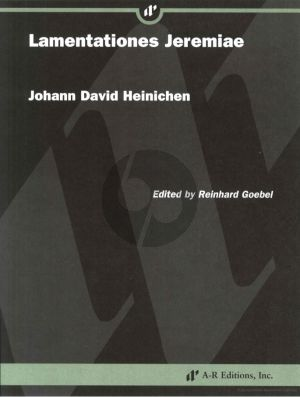 Heinichen Lamentationes Jeremiae Fullscore (Edited by Richard Goebel)