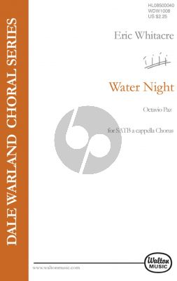 Whitacre Water Night SATB