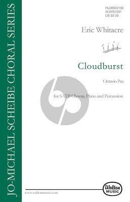 Whitacre Cloud Burst SATB