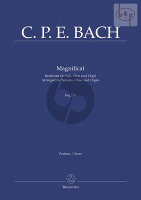 Magnificat WQ 215 (Bearbeitet fur Soli, Chor und Orgel)