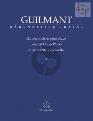Ausgewahlte Orgelwerke Vol.4