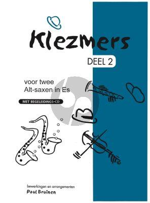 Bruinen Klezmers Vol. 2 2 Altsaxofoons (Bk-Cd)