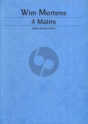 Mertens 4 Mains for Piano 4 Hands