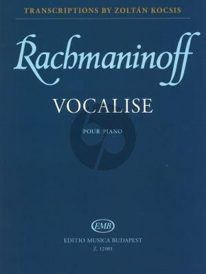 Rachmaninoff Vocalise Op.34 No.14 (Kocsis)