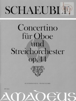 Concertino Op.44 (Oboe-String Orch.)