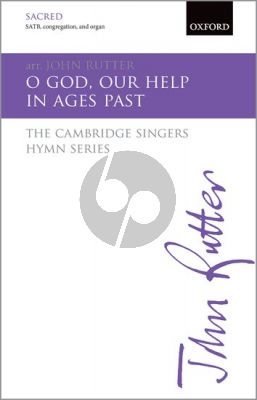 Rutter O God, our help in Ages past (SATB-Organ with Brass)
