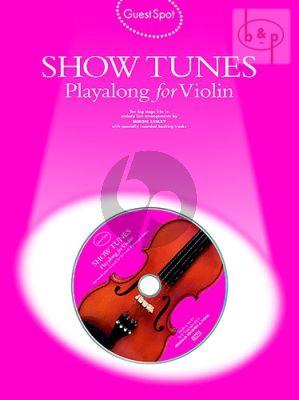 Guest Spot Show Tunes Playalong