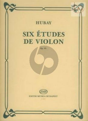 6 Etudes Op.63