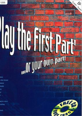 Play the First Part klarinet boek-CD