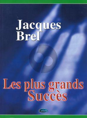Brel Plus Grands Succes (Piano/Vocal/Guitar)