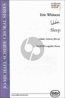 Whitacre  Sleep (SATB) (div.)