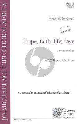 Hope Faith life Love SSAATTBB