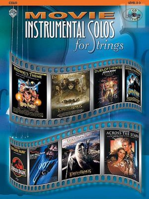 Movie Instrumental Solos for Strings Cello