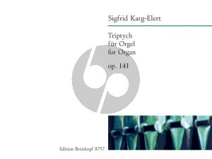 Karg-Elert Triptych Op.141 Orgel (Wolfgang Stockmeier)