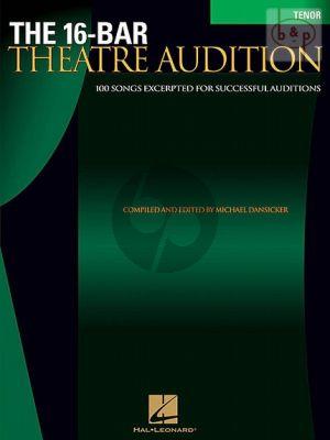 16 Bar Theatre Audition (Tenor-Piano)