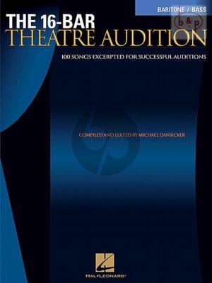 16 Bar Theatre Audition (Baritone/Bass-Piano)