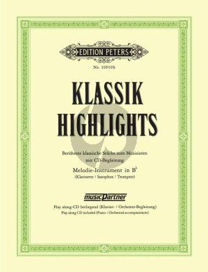 Klassik Highlights Klarinette / Trpmpete / Saxophon