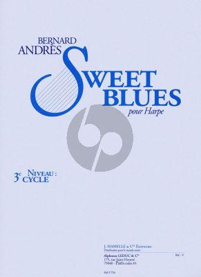 Andres Sweet Blues pour Harpe (interm.level)