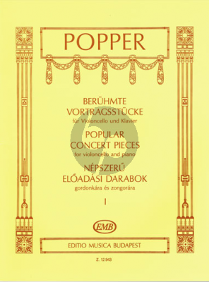 Popper Popular Concert Pieces Vol.1