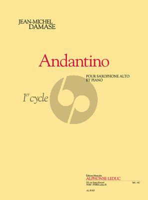Andantino Alto Sax.-Piano