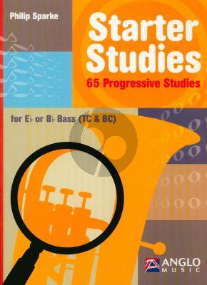 Sparke Starter Studies 65 Progressive Studiesfor Eb/Bb Bass Treble and Bass Clef