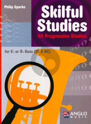 Sparke Skilful Studies 40 Progressive Studies Eb/Bb Bass Treble and Bass Clef Nabestellen