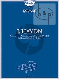 Concerto D-major (Hob.XVIII:11) (Piano-Orch) (2 piano's red.) (Bk-Cd)