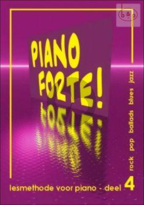 Piano Forte! Lesmethode voor Piano Vol.4